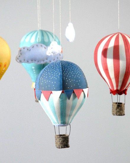Shake My Blog | Un mobile montgolfiere DIY
