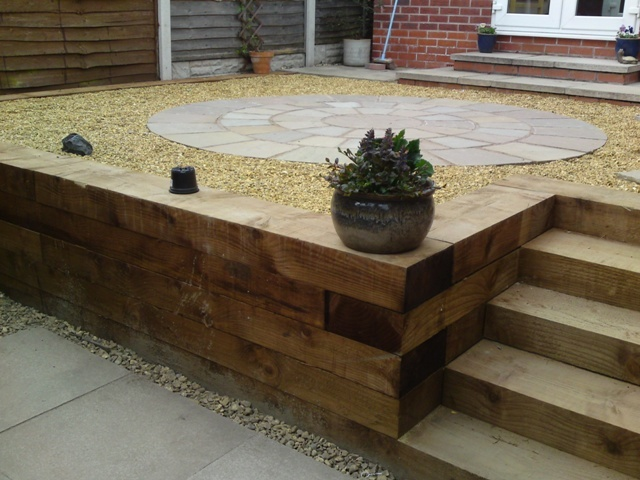 Decking alternative outdoor wishes pinterest for Alternative to decking