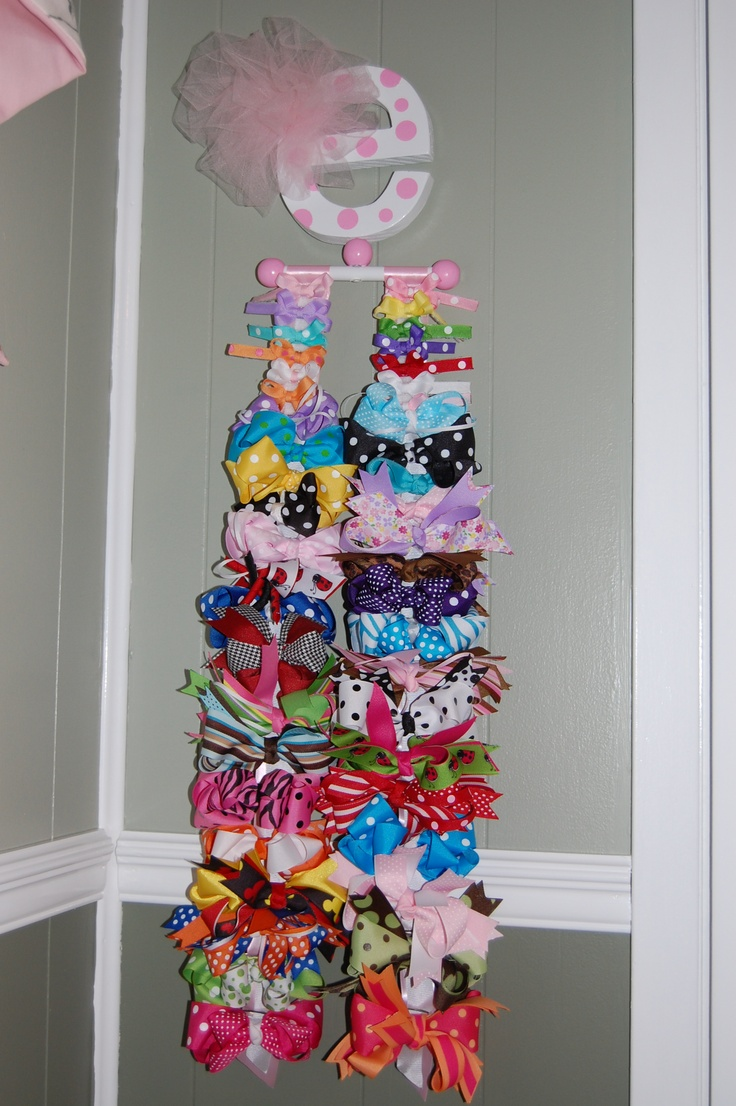 Looks like the girls bow holders. Bows are addicting!
