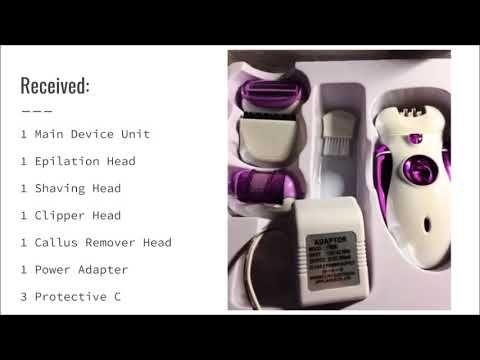 #Bikini #Clip #Cordless #Electric #Epilator #Product #Review #Shaver #womens