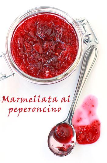 marmellata al peperoncino e peperoni