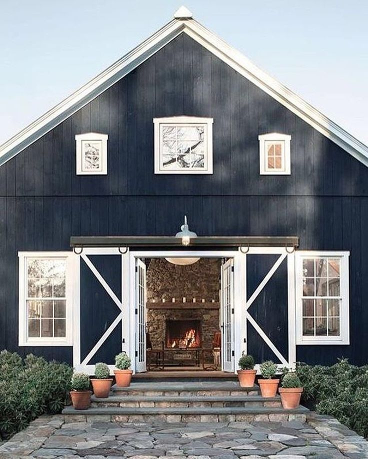 25 best ideas about exterior barn doors on pinterest for Barn style exterior doors