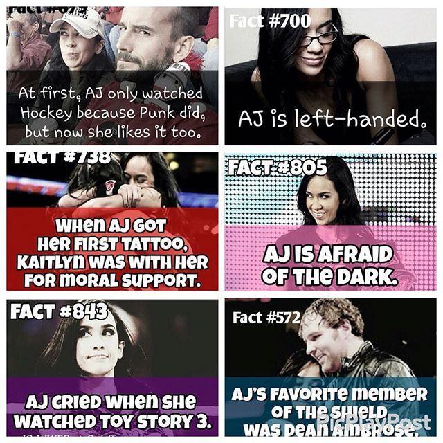 Facts about aj lee  @a.j.stayweird by deaanambrose
