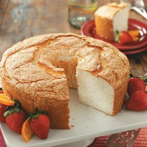There really is nothing better than homemade - you'll never use a box again!  Best Angel Food Cake Recipe from Taste of Home