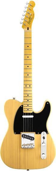 Squier Classic Vibe '50s Telecaster in Butterscotch Blonde #squier #guitar
