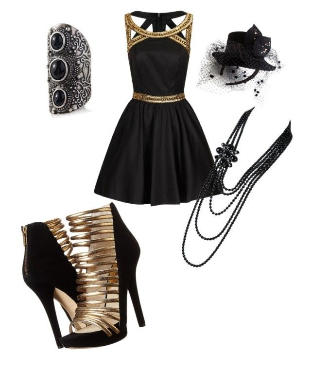 """""""Witches of East End"""" by april-chaos ❤ liked on Polyvore featuring Chi Chi, MICHAEL Michael Kors, Express and Chanel"""