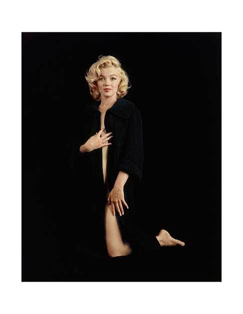 Marilyn Monroe – The Nude Sweater Sitting (NU-03) — Diamond Edition — The Archives Store | Milton H. Greene's digitally restored, photographic prints and more