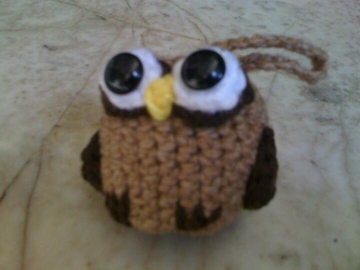 Búho #amigurumi #owl #búho #llavero