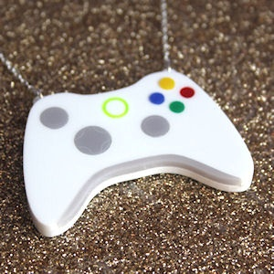 Video Game Controller Necklace