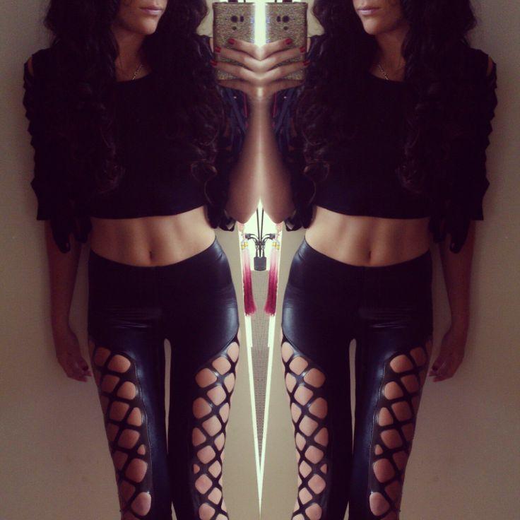 BlackMilk Clothing, Double dare ya leggings