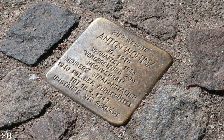 Stolpersteine in Hamburg: Omdat we je naam niet vergeten zijn - Standort Hamburg