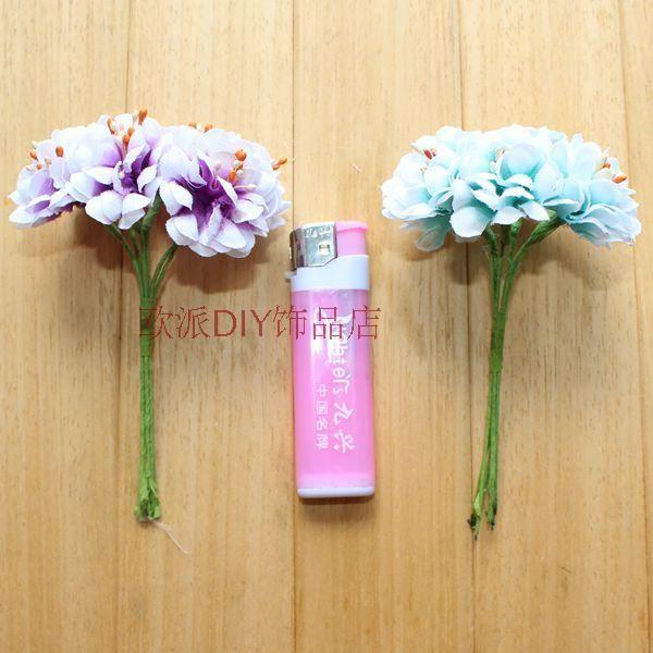 DIY моделирование шелк цветок хризантемы новый Мори женского украшения для волос ручной работы аксессуары для волос свадебный венок материал 6 / пачка - глобальная станция Taobao