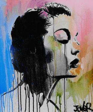 "Saatchi Art Artist Loui Jover; Painting, ""the classic (canvas) SOLD"" #art"