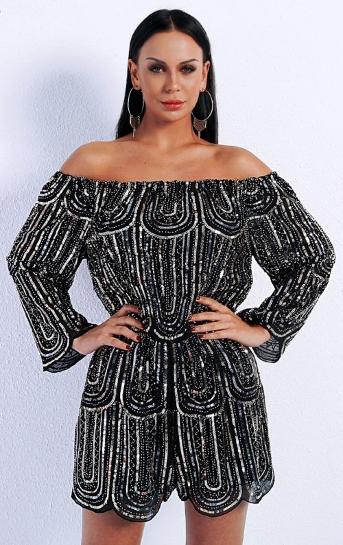 f5e99a391c Beaded Playsuit in 2019