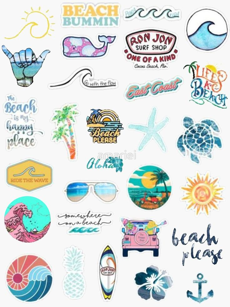 Summer Sticker Pack | Stickers