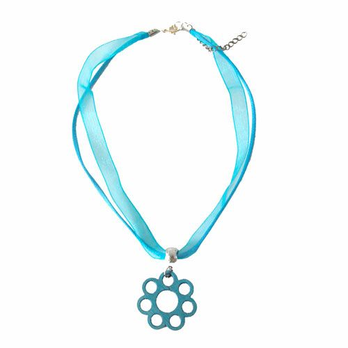 aarikka Turquoise Fiore Necklace $46.00