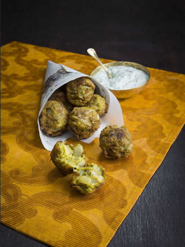 Thermomix | Onion bhaji | Flavours of India Cookbook + Recipe chip |