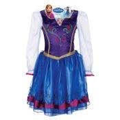 Disney Frozen Anna's Dress Size 4-6x Toddler #frozen #disney #dressup