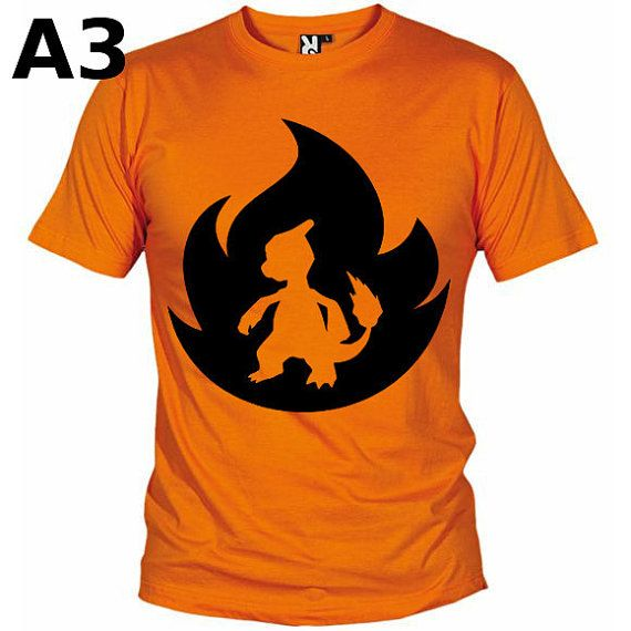 """T-shirt Orange pour Homme (différentes tailles disponibles), logo """"Reptincel"""" - Format d'impression au choix: A3 ou A4"""