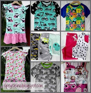 Upcyclelina: New clothes for kids