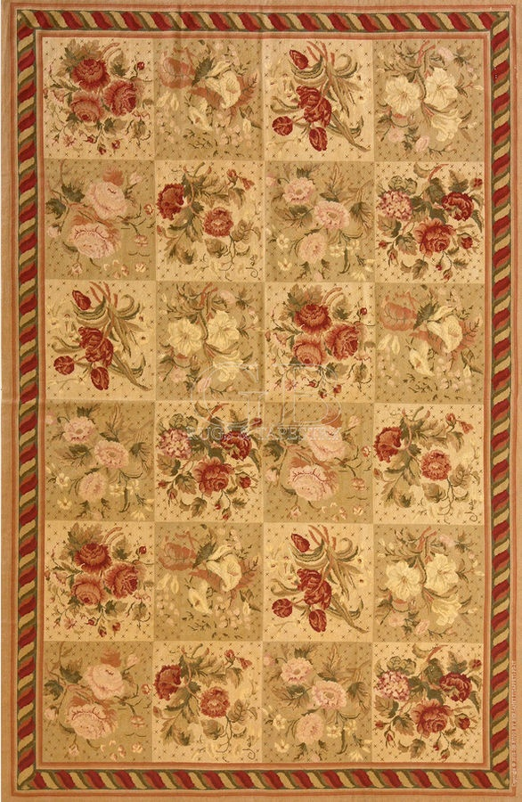 Image detail for -Aubusson rug - NEEDLEPOINT - bersanetti giovanni
