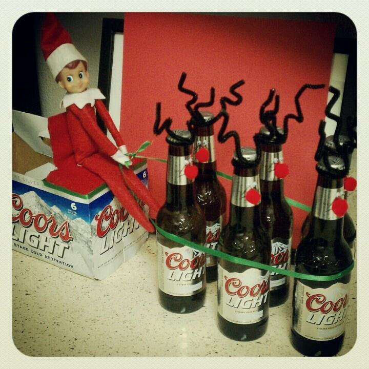 Adult elf on the shelf. Reinbeers // Naughty Elf