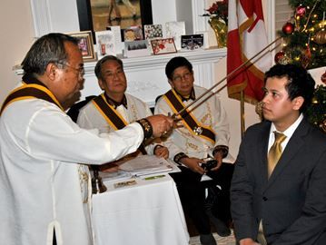 Filipinos knight Barrie politicians to expand service work - A Filipino philanthropic fraternity is expanding its work into Barrie – and it's starting its work with MP Patrick Brown, former councillor Alex Nuttall and Ward 9 Coun. Sergio Morales.