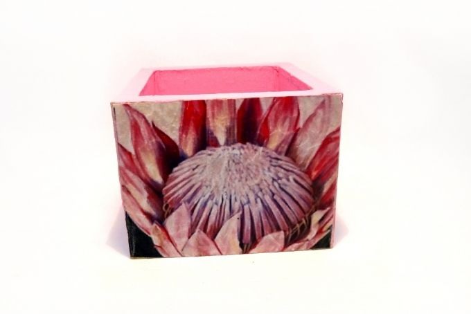 Storage box by Busy Lizzy Creations on hellopretty.co.za