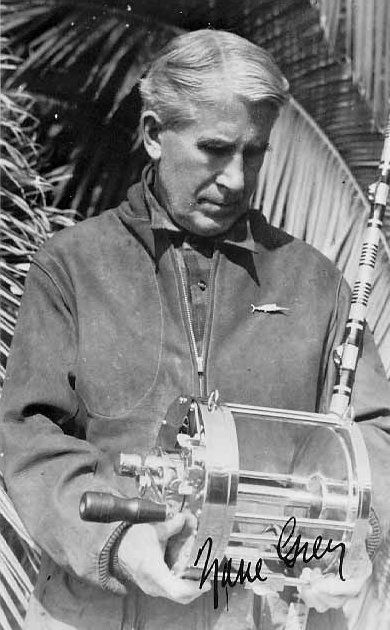 Zane Grey (1872 - 1939) was an American dentist and author best known for his adventure novels and Western fiction; he idealized the American frontier. Riders of the Purple Sage (1912) was his best-selling book. /Bios