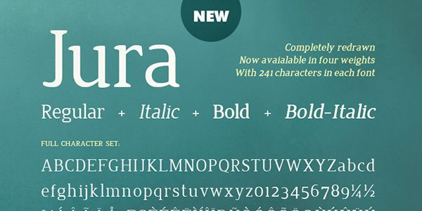 Fonts: Ultimate Collection - Jura