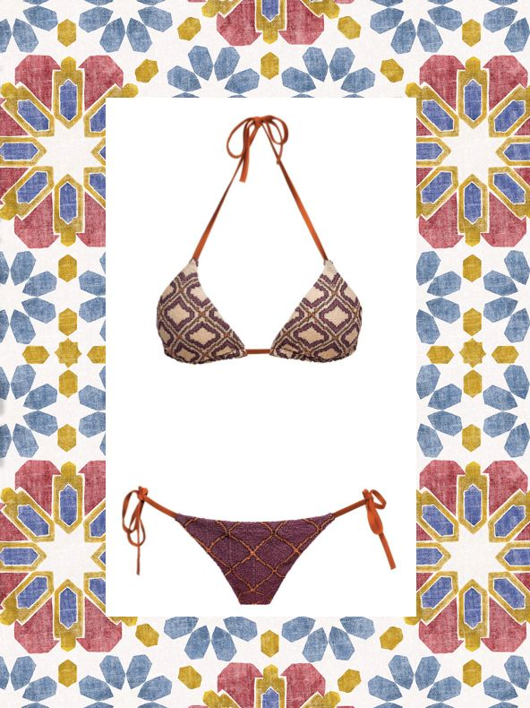 MITOS Sife bikini in purple  #mitoswimwear #bikini #summer #beach #sea #mitos #purple