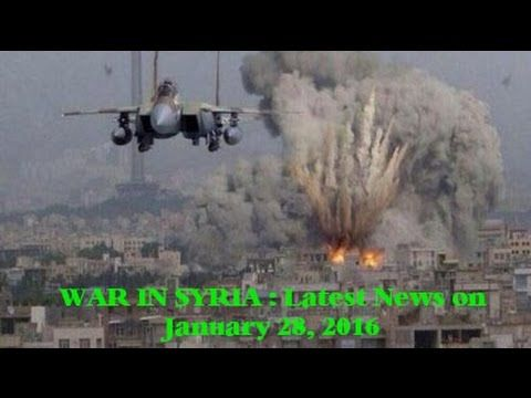 War in Syria: Latest News on January 28, 2016