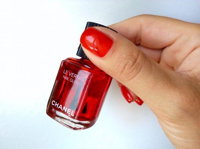Красное стекло Chanel Le Vernis Nail Gloss #530 Rouge Radical — Zaoknomzima —…