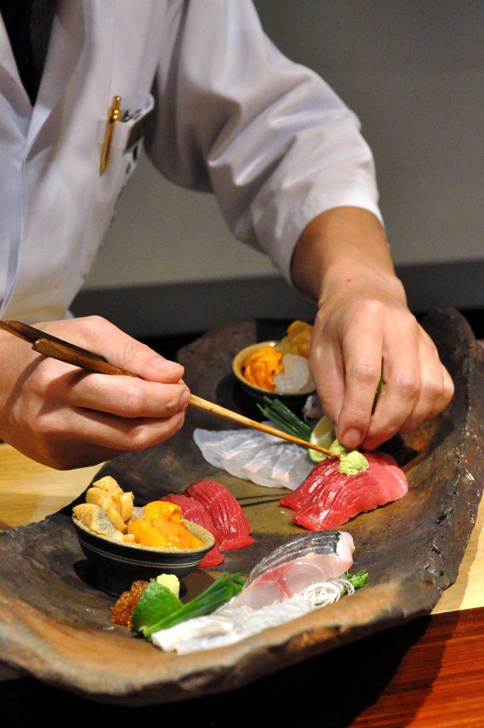 Making Sushi Plate