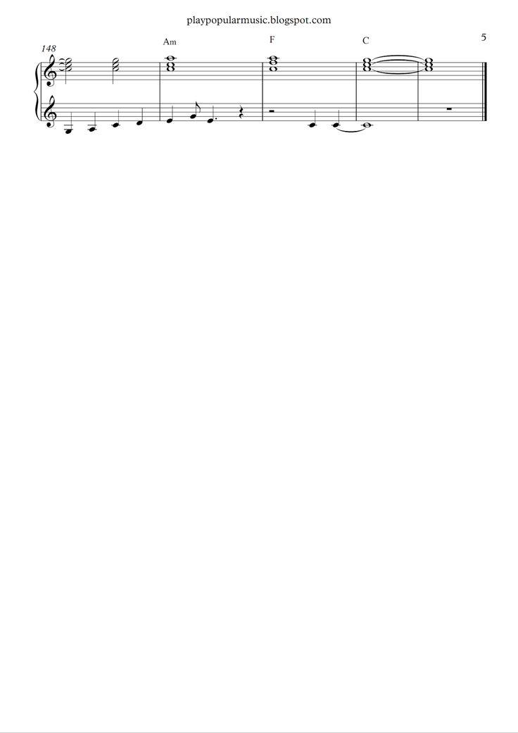 happier ed sheeran piano sheet pdf