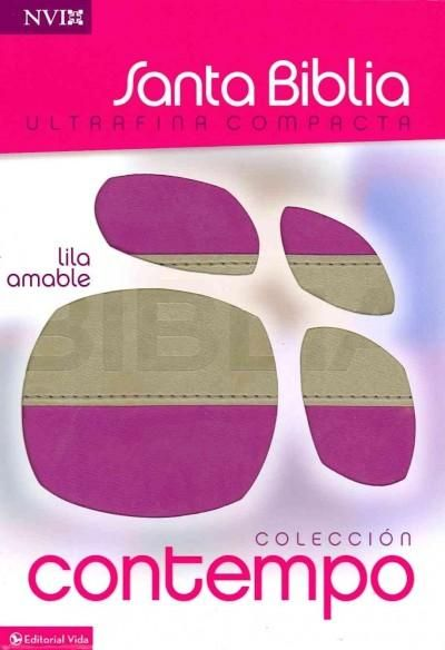 Santa Biblia / Holy Bible: Ultrafina Compacta Coleccion Contempo, Nueva Version Internacional, Lila Amable, Ital...