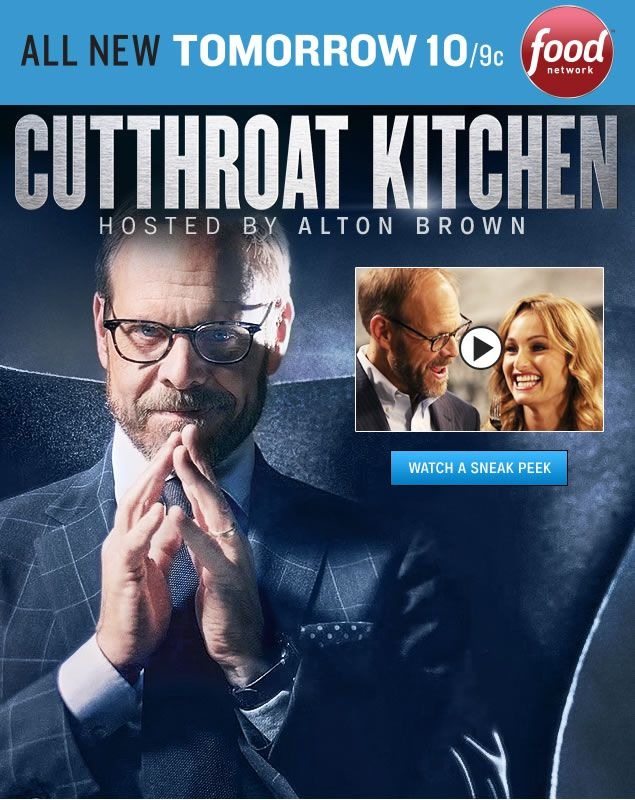 Watch exclusive videos from the new season of Cutthroat Kitchen, and tune in to all new episodes Sundays at 10pm/9c.