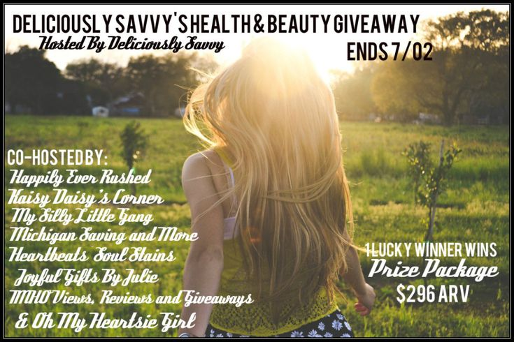 Deliciously Savvy Health and Beauty Giveaway! | Oh My Heartsie Girl