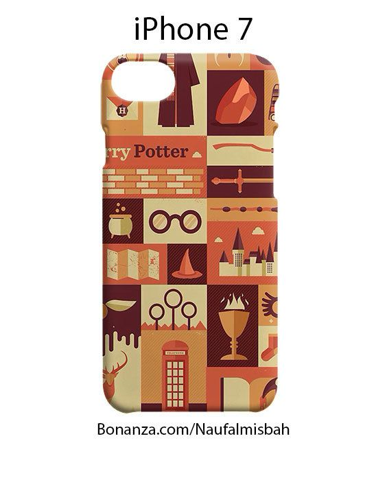 Harry Potter Collage iPhone 7 Case Cover Wrap Around