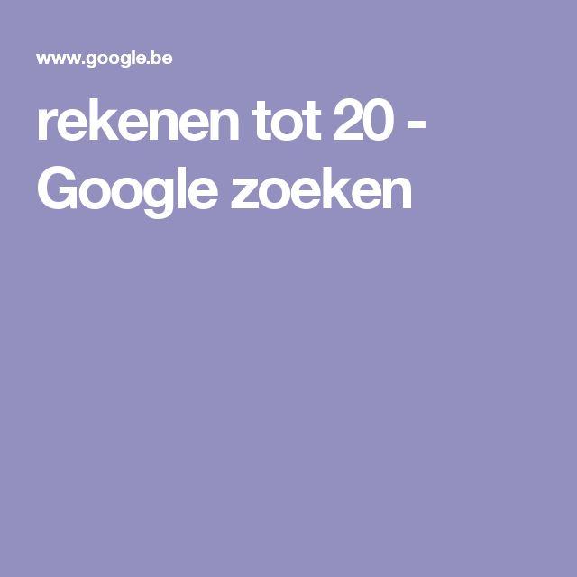 rekenen tot 20 - Google zoeken