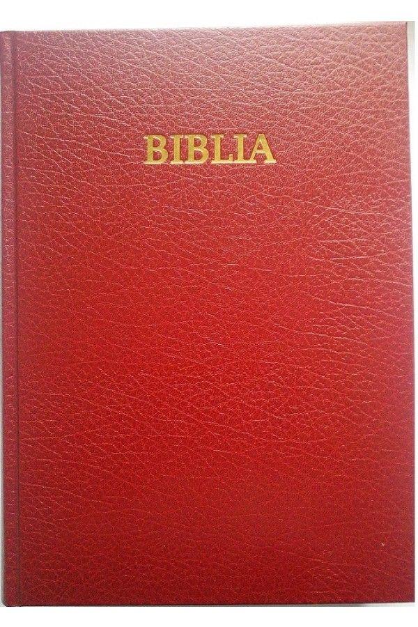 Biblia cu scris mare, de marime foarte mare, fara cruce