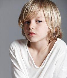 Image result for cool little boy hairstyles long hair 8