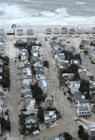 Aerial views of shore devastation...Long Beach Island :-(