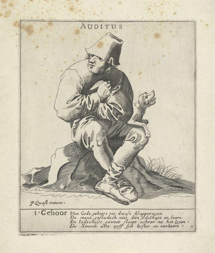 Het Gehoor, Pieter Jansz. Quast, 1615 - 1647