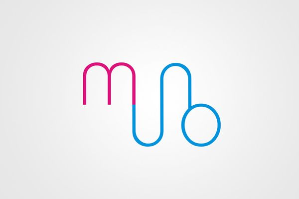 sexual logo for the modern art museum by Judyta Marczewska, via Behance
