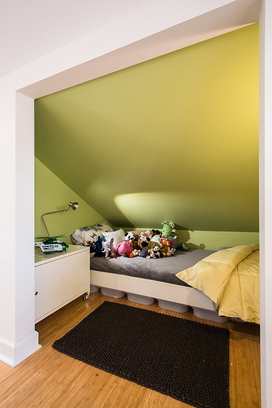 1000 images about attic spaces on pinterest attic conversion attic renovation and bonus rooms - Small space sleeping solutions pict ...