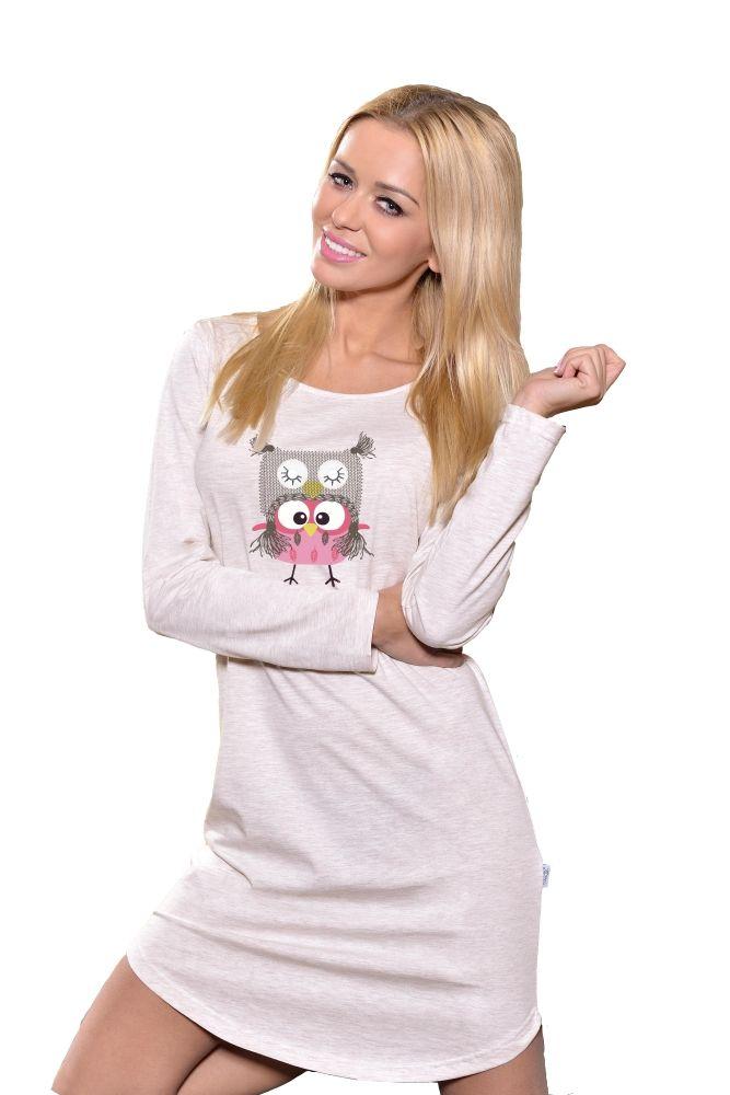 Dámská noční košile se sovou #nightdress with cute #owl