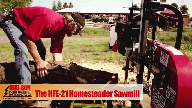 Produce your own lumber for any number of construction or hobbyist projects. Ideal for sawing your logs into boards or re-sawing boards to any needed dimension.  #PortableSawmill #Homemade #DIY #Chainsaw #Logs #Projects #YouTube #Woodworking #Forestry #ForestryEquipment #HeavyEquipment #Bandmills #Milling #Local #MADEUSA   #UpstateNY #Outdoorliving #OffGridliving #CountryLife #Sawmill #Mill #Hud-Son #Hudson #HudsonForestEquipment