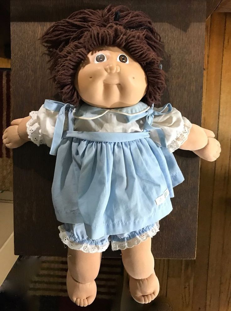 CABBAGE PATCH DOLL XAVIER ROBERTS SIGNED 1984 NICE! FREE SHIPPING #CabbagePatchKids #Dolls