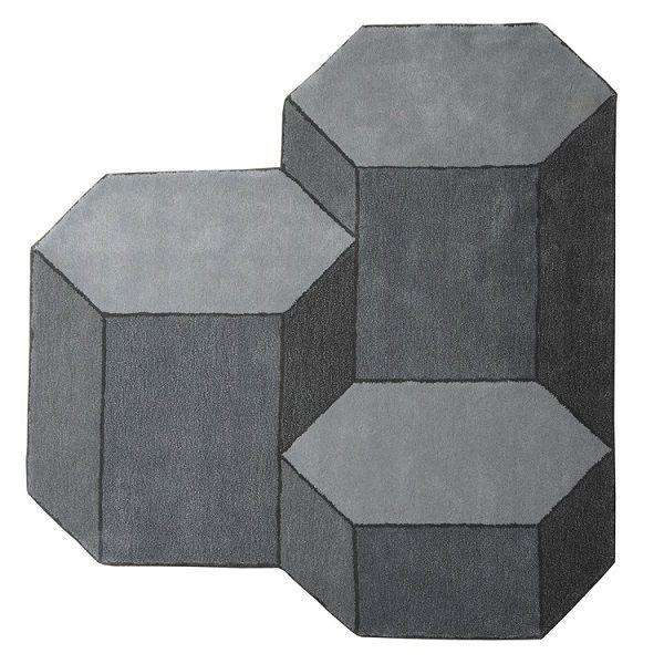 basalte rug large 160 x 170 cm large grey by enostudio design furniture and decoration with made in design - Einfache Dekoration Und Mobel Interview Mit David Geckeler